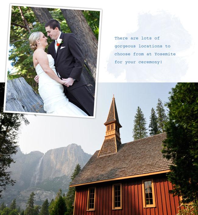 Tenaya Lodge Yosemite Wedding