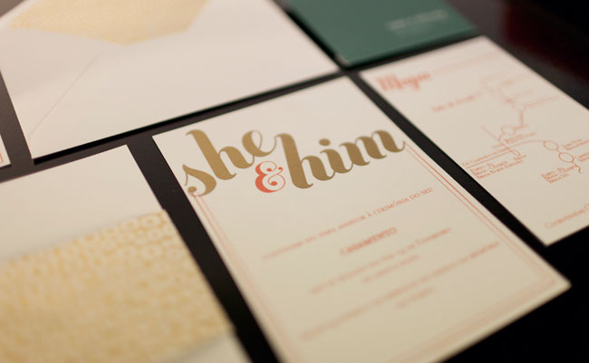 she and him invitation