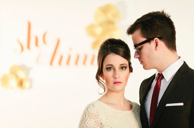 zooey deschanel and don draper wedding inspiration
