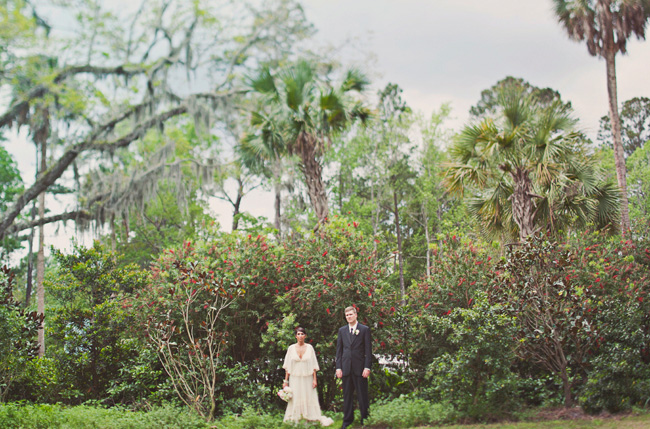 florida wedding bride and groom