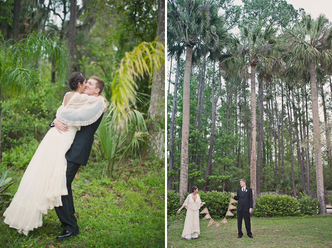 florida wedding bunting