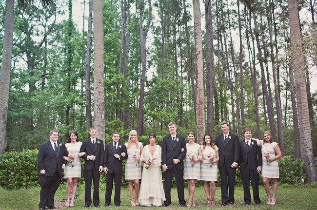 florida wedding bridal party