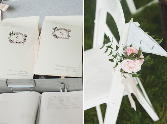 floral wedding programs