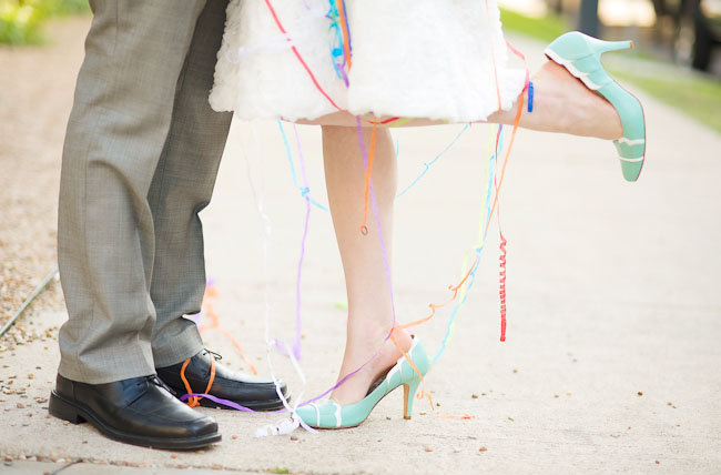 Colorful + Fun Austin Wedding: Lauren + Sam