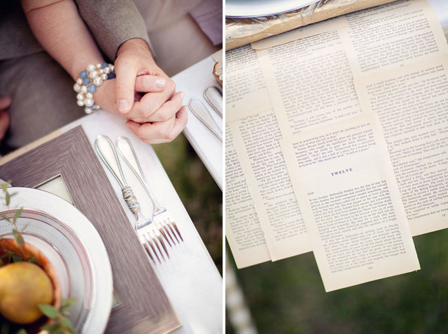book page place mats