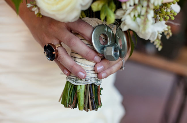 nuts and bolts bouquet