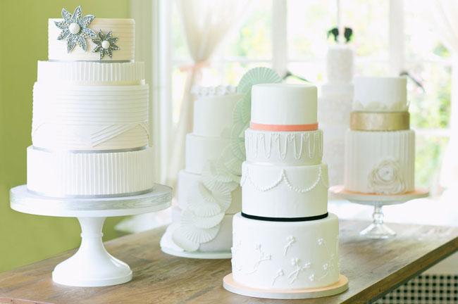 laser cut flower cake