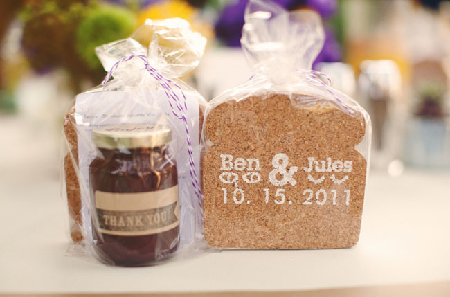 peanut butter and jelly favors
