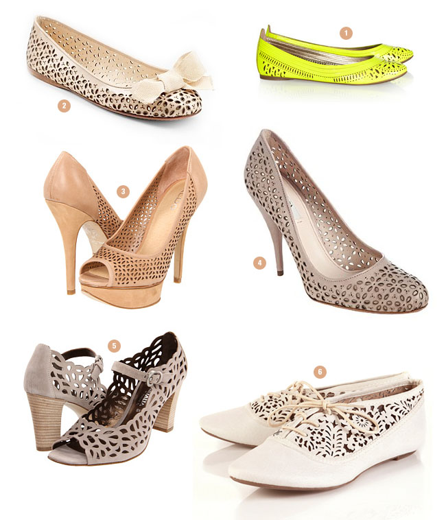 lasercut shoes
