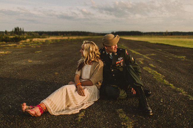 military love shoot