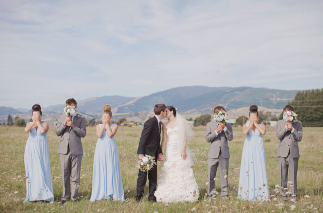 new zealand bridal party