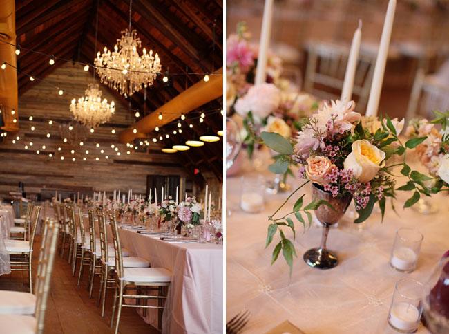 goblet floral centerpieces