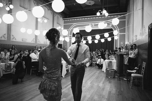 pinwheel wedding first dance