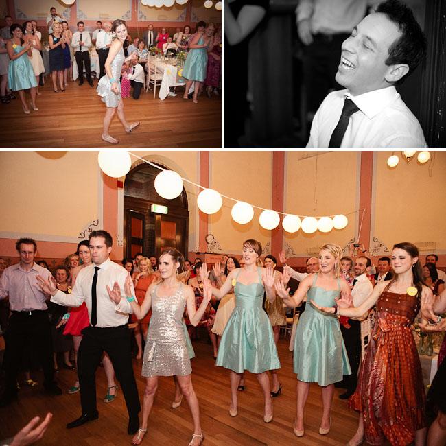 bride flash mob surprise