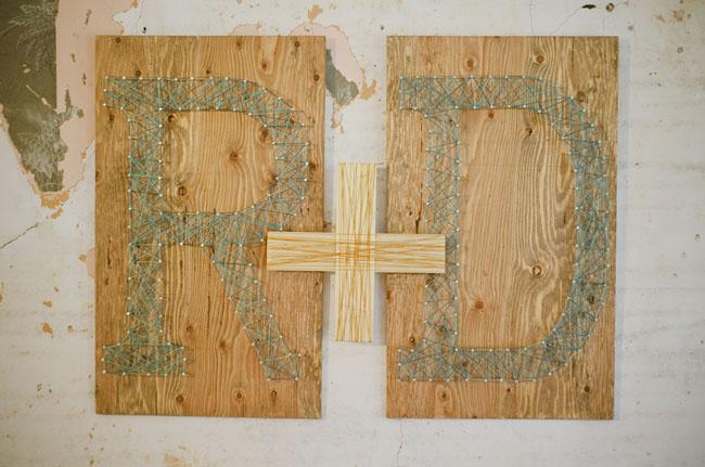 string nail initials
