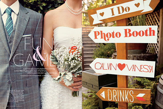 summer camp wedding signs