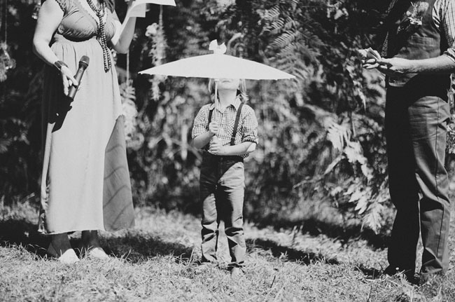 ring bearer with parosal
