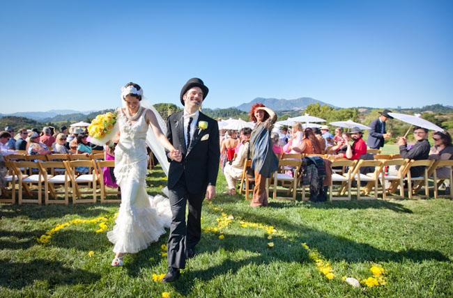vaudeville wedding