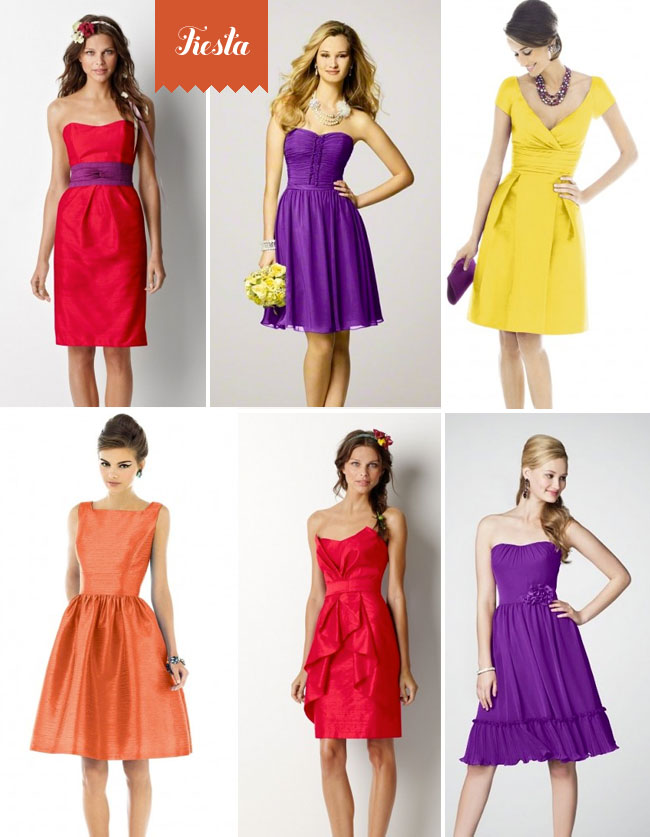 Fiesta Bridesmaids Dresses