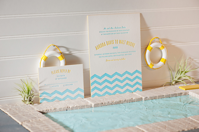Bella Figura Beach Invites