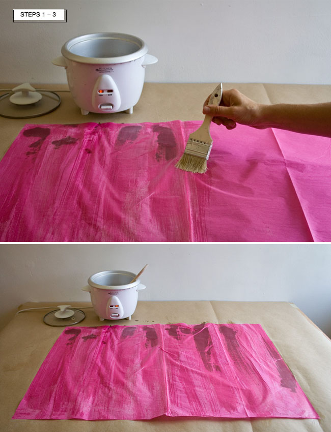 DIY Wax Paper Dot Garland Instructions