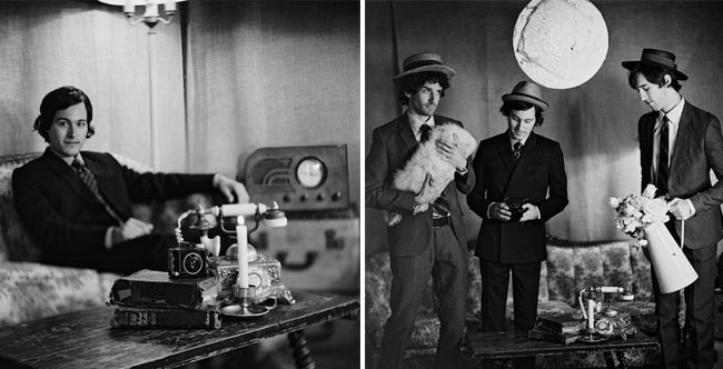 vintage groomsmen photo