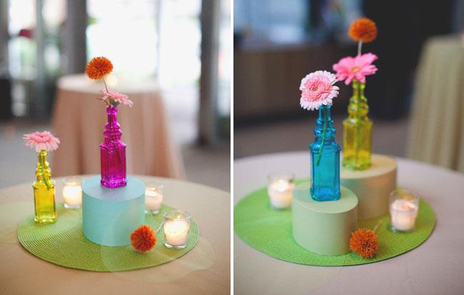 bright vases