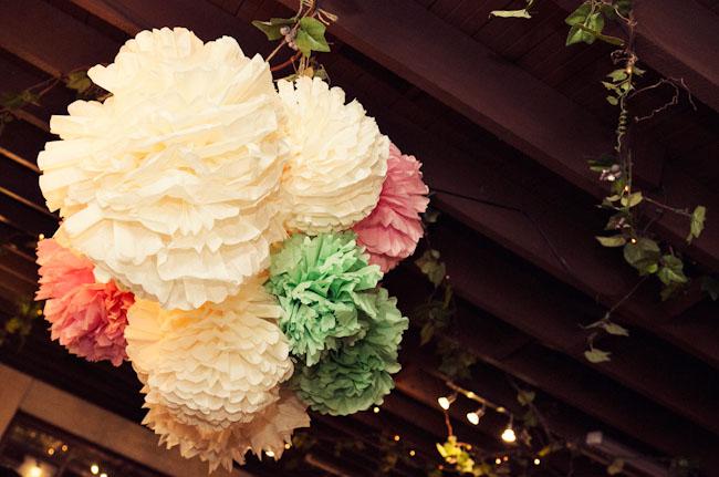 tissue paper balls