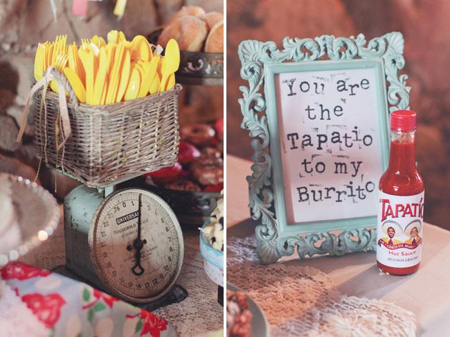 barn wedding tapatio favors