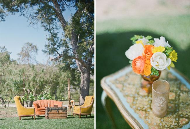 Outdoor California Wedding With Creative Florals Alyssa