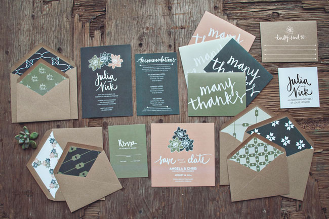 Foodie Wedding Invitations