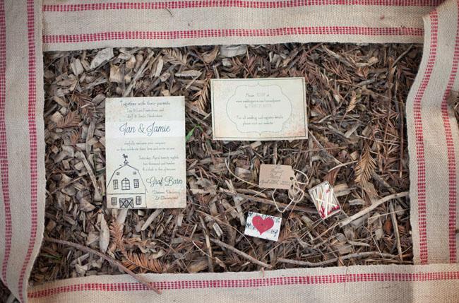 barn invitations