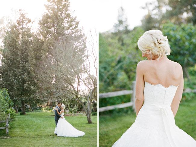 graf barn bride and groom