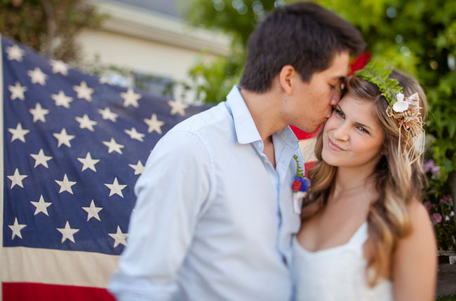 july 4th wedding inspiration