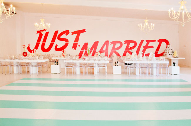 just-married-decal