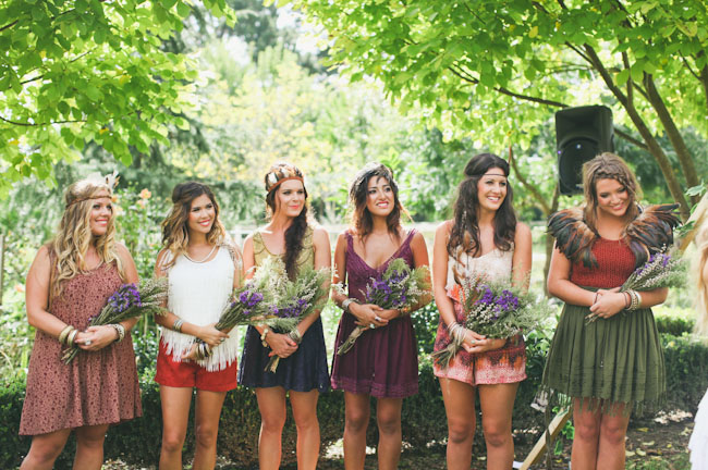 native bridesmaids
