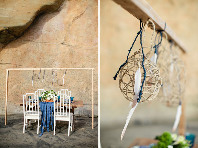 nautical beach wedding inspiration
