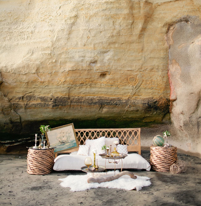 nautical beach wedding inspiration