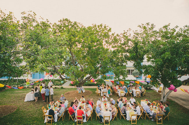 florida wedding fiesta reception