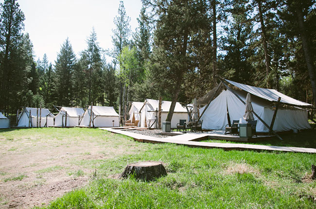 paws up resort tents