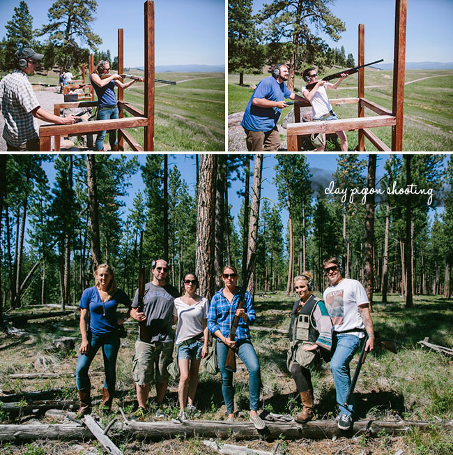 paws up resort clay shooting