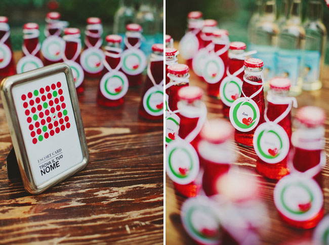 red soda favors