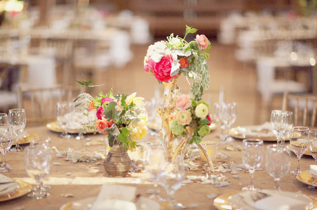 assorted centerpieces