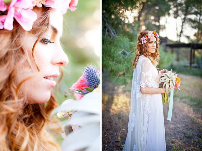 sirens wedding inspiration airplant bouquet