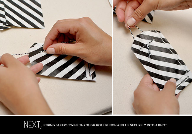 Escort Card DIY step 2
