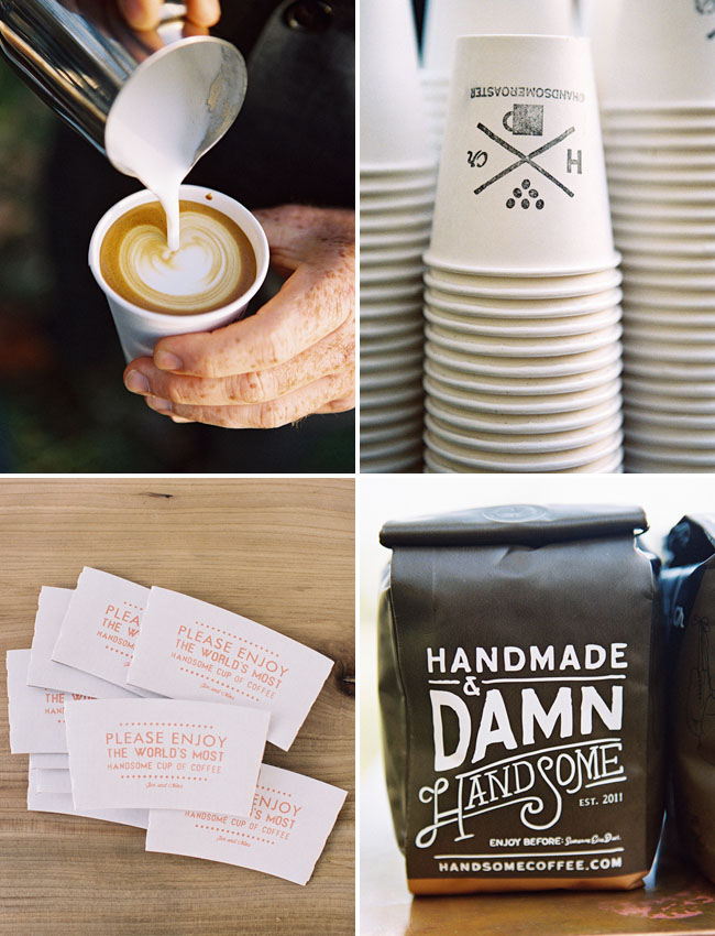 sunrise wedding handsome coffee