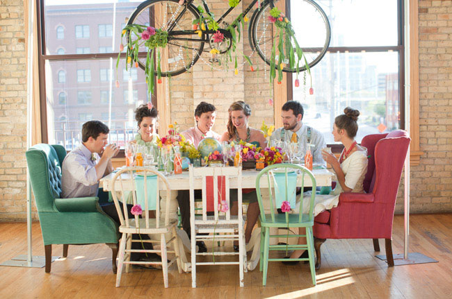 bicycle centerpiece