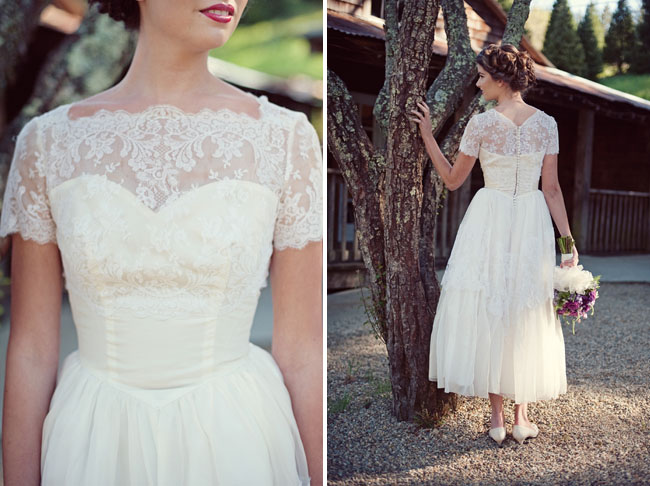 Vintage Wedding Dress Inspiration