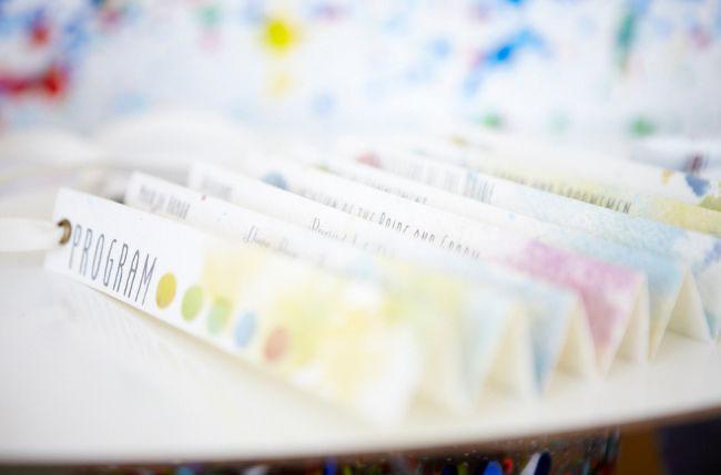watercolor paper fan programs