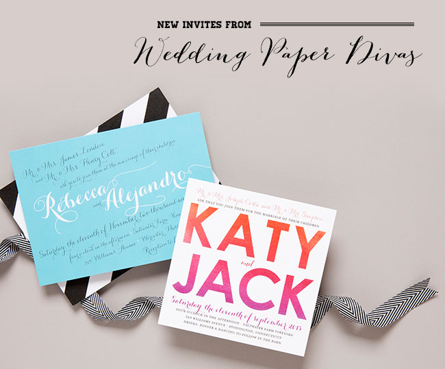 Wedding Paper Divas Invites
